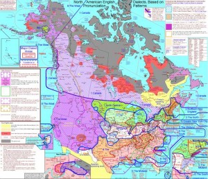 Rick Aschmann's American Dialects Map
