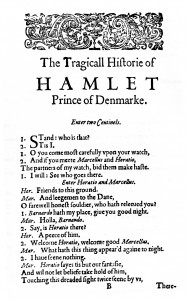 The First Quarto of Hamlet
