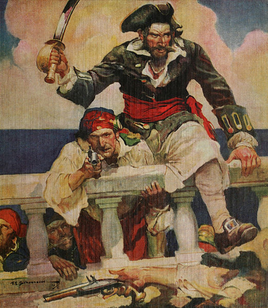 Arrr, Matey! The Origins of the Pirate Accent   Dialect Blog