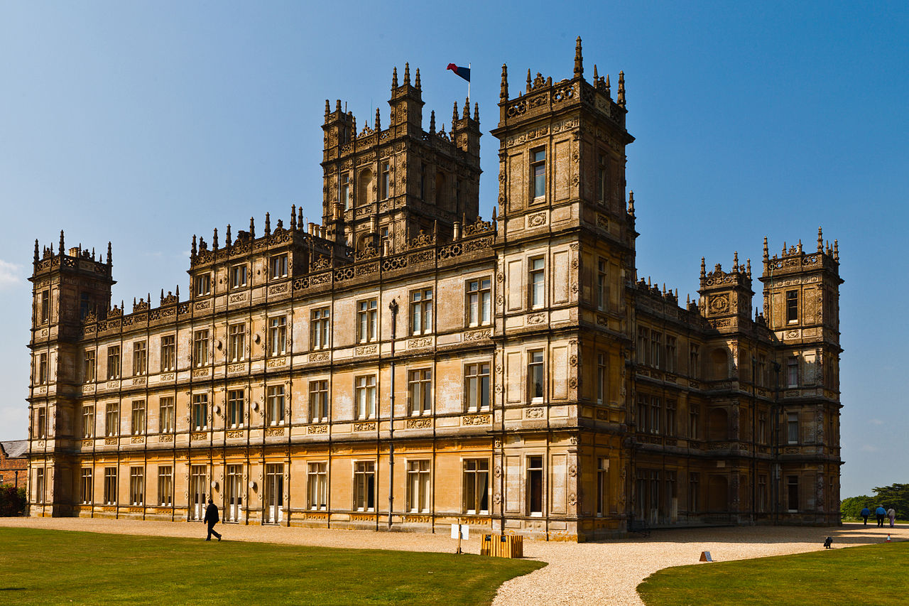 The accents in downton abbey dialect blog - Chateau downton abbey ...