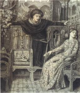 Hamlet & Ophelia