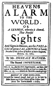 Increase Mather Sermon